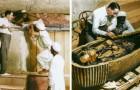 Die Öffnung des Grabes von Tutanchamun: Eine Firma macht es möglich diesen Moment in FARBE zu erleben