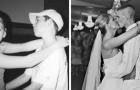 20 Fotos von Paaren mit dem Abstand von Jahren, die den Glauben an die dauerhaft glückliche Liebe stärken