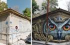 24 voorbeelden hoe straatkunst nieuw leven kan geven aan saaie hoeken in de stad