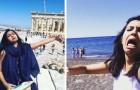 Elle part en lune de miel seule après que le visa de son mari ait été refusé: les selfies qu'elle prend sont au top
