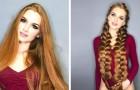 Als Jugendliche litt sie unter Haarausfall: Jetzt gibt dieses Mädchen Tipps zur Haarpflege