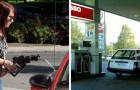 13 mensen die laten zien dat ze absoluut niet weten hoe een tankstation werkt