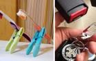 35 esempi di come oggetti comuni possono essere utili anche in qualche altro modo