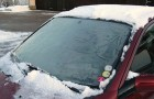 This is the easiest and fastest way to remove ice from a windshield