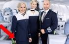 Porque o pessoal de bordo acolhe os passageiros com as mãos atrás das costas?