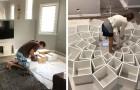 Provano a costruire una libreria vista on-line: ciò che ha creato questa coppia va oltre le aspettative