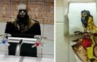 13 divertenti opere degli artisti dei bagni pubblici