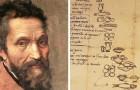 Cosa mangiava Michelangelo? Ce lo svela lui stesso con una lista della spesa redatta nel 1518