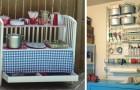 15 brillanti idee per trovare nuova utilità al lettino del bebè