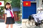 So sehen die Schuluniformen in 10 verschiedenen Ländern aus