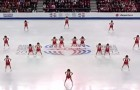 The choreography of these 16 girls sent the spectators into delirium ... A Must See!