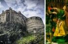 L'antico Castello di Edimburgo sorge su un vulcano estinto, sospeso tra storia e leggenda
