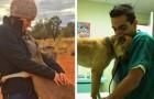 12 dankbare dieren die niet zijn vergeten om dat aan hun helpers te laten merken