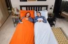 IKEA crea il piumone che pone fine alla battaglia per le coperte