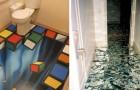Quando vedrete questi pavimenti originali, inizierete a pensare di rifare il vostro