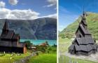 Le bellissime chiese medioevali in legno che sopravvivono solo in Norvegia