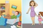 Wanneer kinderen hun ouders voor de gek houden met deze 6 houdingen: dit kun je eraan doen