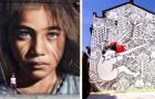 21 ongelooflijke street art kunstwerken die we overal ter wereld kunnen vinden