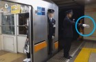 Japanisches Bahnsteigpersonal macht nichts anderes als mit dem Finger zu deuten: Was bedeutet dieses kuriose Verhalten?