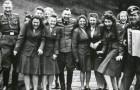 Queste rare fotografie mostrano la vita del personale SS nei campi di concentramento, tra risate e divertimento