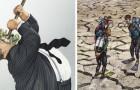 20 plaatjes die heel bot maar eerlijk laten zien wat er niet klopt in de maatschappij