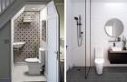 34 idées merveilleuses pour faire d'une petite salle de bains le meilleur endroit de la maison.