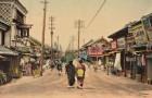 14 cartoline colorate di 100 anni fa ci mostrano il Giappone prima della guerra, in tutta la sua bellezza