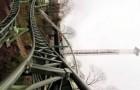 Montagnes russes de 100 km/h. Décoiffant!