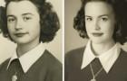 24 petits-enfants qui ont recréé les clichés de leurs grands-parents jeunes avec des résultats incroyables