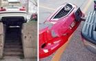 18 foto's van geparkeerde auto's waarvan je niet weet hoe je ze een logische verklaring moet geven