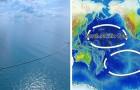Das System das damit beginnen wird, die Plastikinsel des Pazifik zu säubern ist bereit zum Einsatz