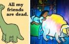 14 Bilder aus Kinderbüchern... die uns etwas perplex zurück lassen