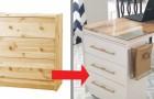 11 progetti fai-da-te per trasformare un semplice mobile IKEA in un pezzo di design