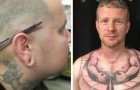 34 tatoeages met 3D effect die veel meer lijken dan eenvoudige tekeningen op de huid