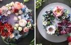 Questa pasticcera trasforma le torte in incantevoli bouquet floreali di crema al burro: una meraviglia!