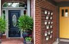 17 créations florales à mettre à l'entrée de la maison pour accueillir les invités de la manière la plus agréable.