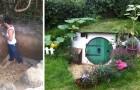 Aimeriez-vous vivre dans une maison de hobbit ? Ce garçon l'a construit tout seul..... comme ça!