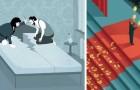 16 illustrazioni che offrono una visione brutale ma onesta della nostra società