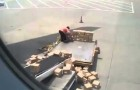 Il peggior operaio dell'aeroporto