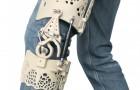 Dit 3D-Geprinte exoskelet belooft alle kniepijn weg te nemen zonder dat er aan comfort wordt ingeboet