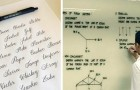 25 handschriften zo PERFECT dat iemand zich verplicht voelde om er een foto van te maken en die te delen met de wereld