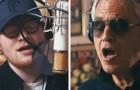 Andrea Bocelli acolhe Ed Sheeran na sua casa italiana: quando começam a cantar, o dueto é sublime!