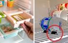 20 ingenieuze tips om de koelkast beter te organiseren en het leven gemakkelijker te maken
