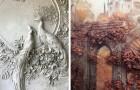 Quest'uomo usa l'antica arte del bassorilievo per dare
