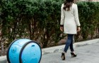 Here comes the robot suitcase that follows you everywhere --- so you can move around without baggage weight!