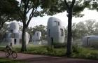 Une ville néerlandaise crée ses premières maisons habitables imprimées en 3D