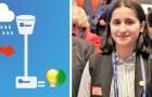 La pioggia come fonte di energia elettrica: la brillante scoperta di una studentessa di soli 15 anni