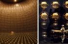 Super-Kamiokande: Entdecken Sie die immense goldene Kammer, in der die Neutrino-Bewegung erforscht wird