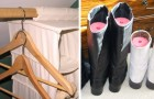 Closets and drawers always in disarray? Here are 18 ingenious tips to organize these storage spaces