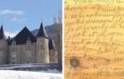 Die Besitzer eines Schlosses entfernen den Boden aus dem späten 19. Jahrhundert und finden ein makabres Geheimtagebuch